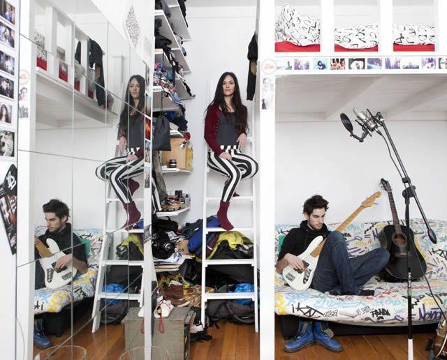 Habitaciones de mujeres jóvenes en todo el mundo 07