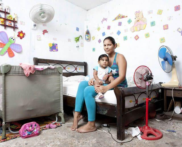 Habitaciones de mujeres jóvenes en todo el mundo 09