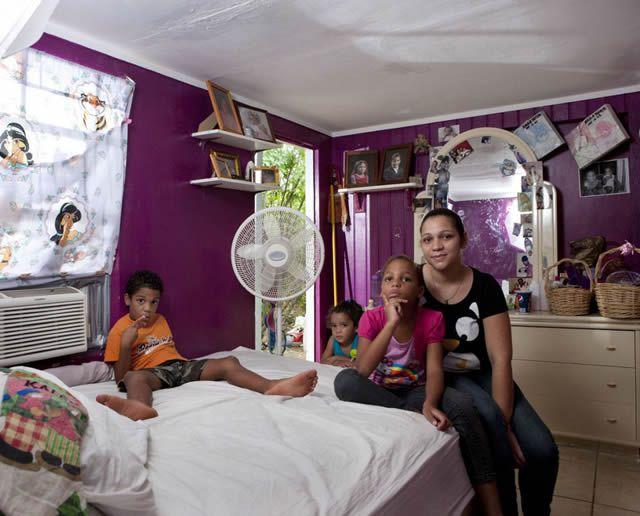Habitaciones de mujeres jóvenes en todo el mundo 21
