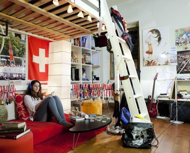 Habitaciones de mujeres jóvenes en todo el mundo 37