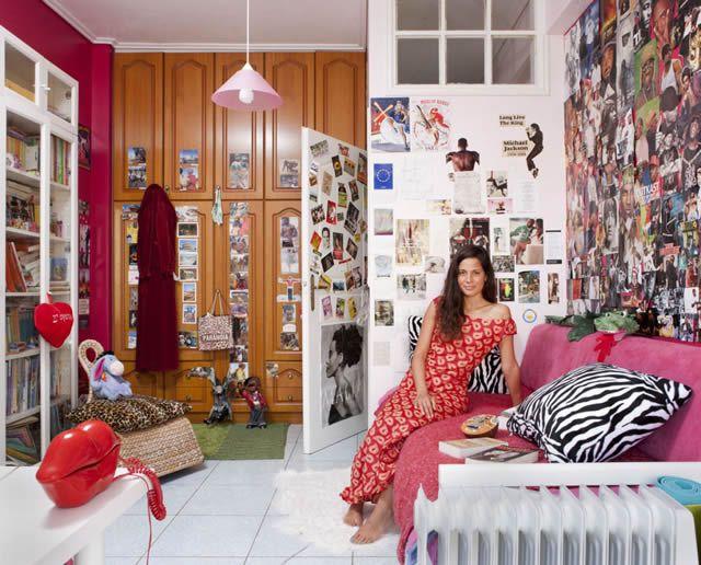 Habitaciones de mujeres jóvenes en todo el mundo 39