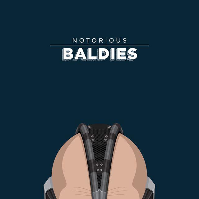 Notorious Baldies Calvas Cultura Pop (2)