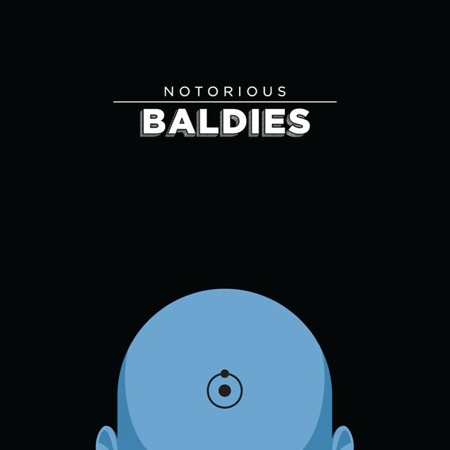 Notorious Baldies Calvas Cultura Pop (3)