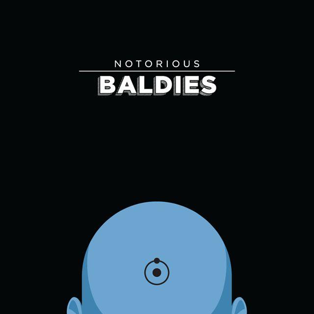 Notorious Baldies Calvas Cultura Pop (3)
