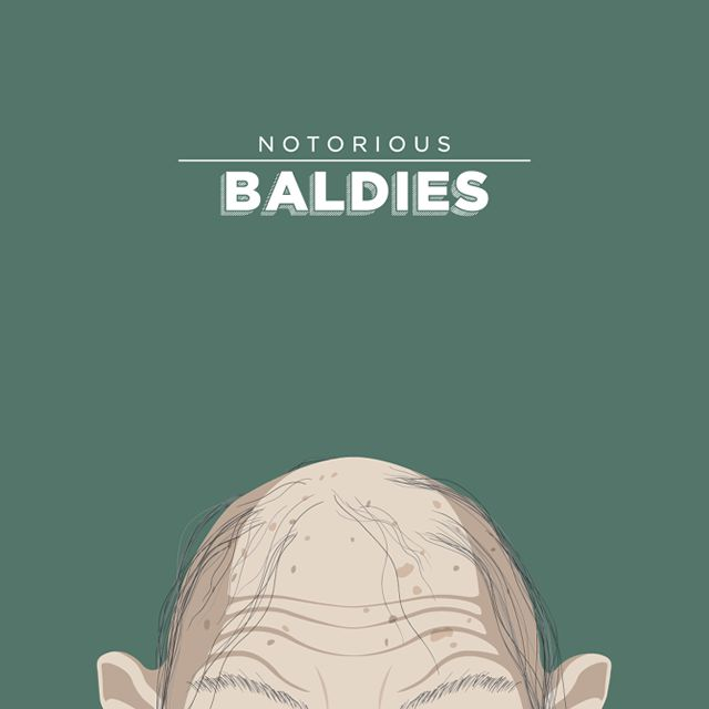 Notorious Baldies Calvas Cultura Pop (8)