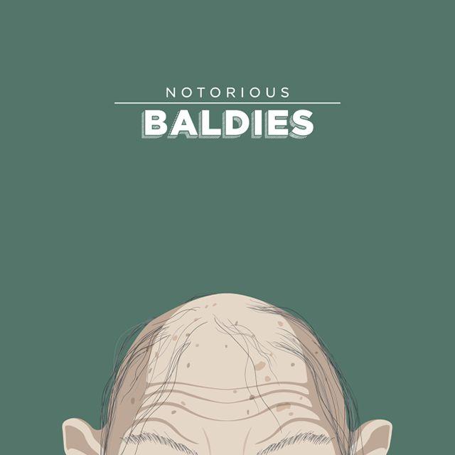 Notorious Baldies Calvas Cultura Pop (8)