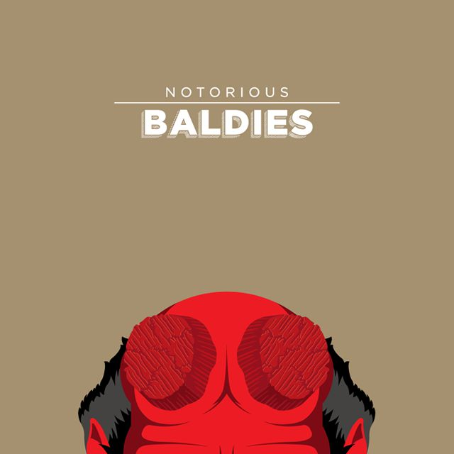 Notorious Baldies Calvas Cultura Pop (7)