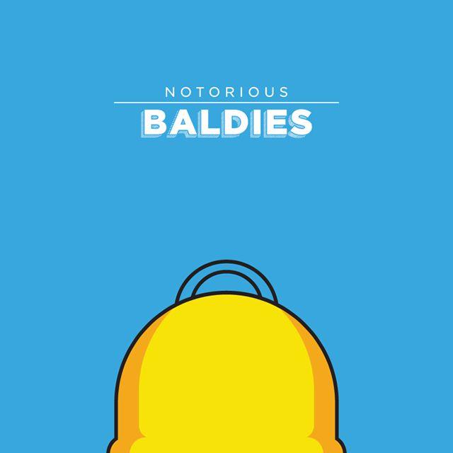 Notorious Baldies Calvas Cultura Pop (6)