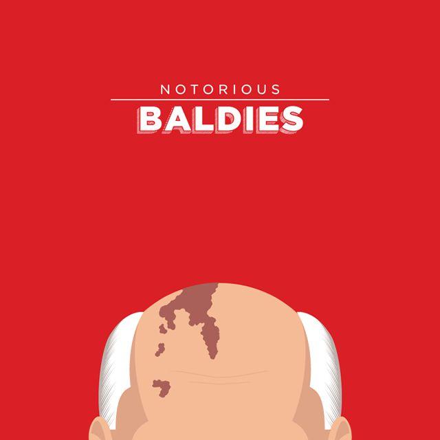 Notorious Baldies Calvas Cultura Pop (11)