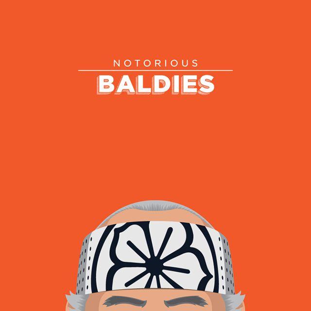 Notorious Baldies Calvas Cultura Pop (10)