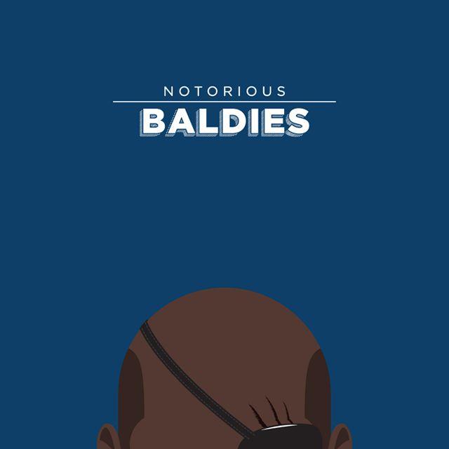 Notorious Baldies Calvas Cultura Pop (9)
