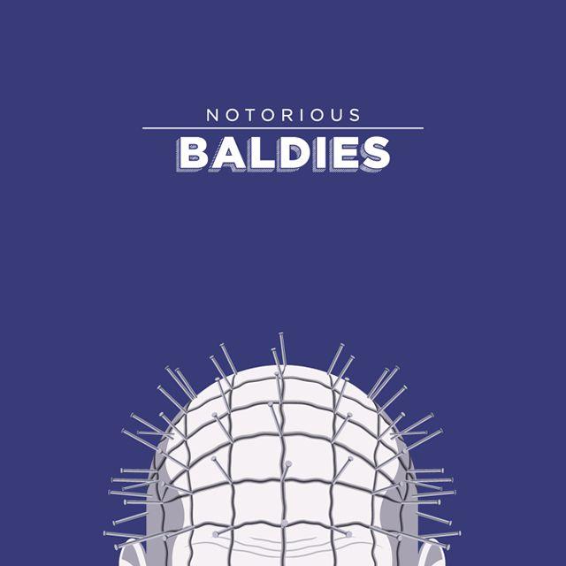 Notorious Baldies Calvas Cultura Pop (15)