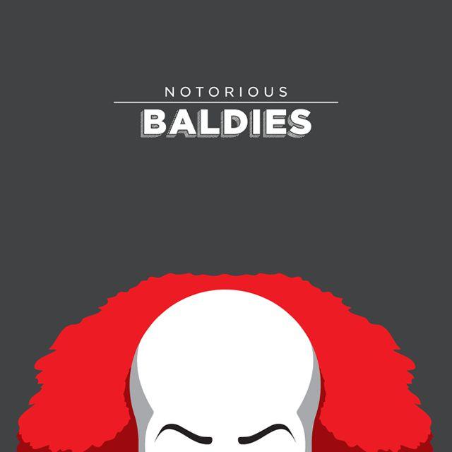 Notorious Baldies Calvas Cultura Pop (14)