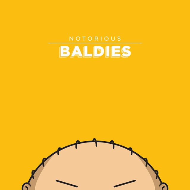 Notorious Baldies Calvas Cultura Pop (13)