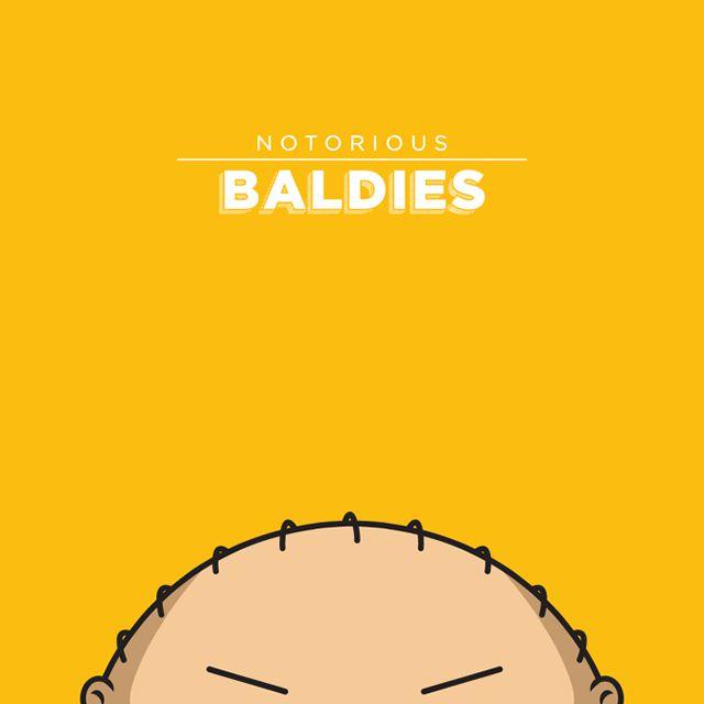 Notorious Baldies Calvas Cultura Pop (13)