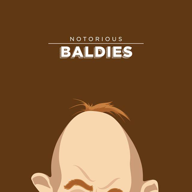 Notorious Baldies Calvas Cultura Pop (12)