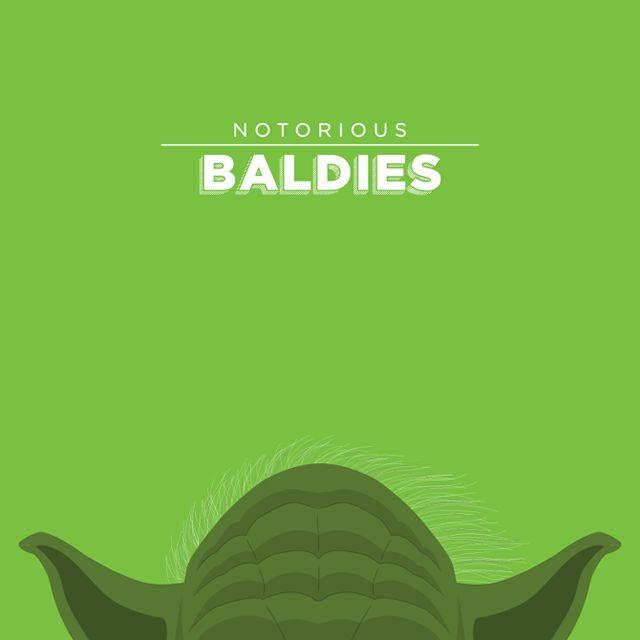 Notorious Baldies Calvas Cultura Pop (1)