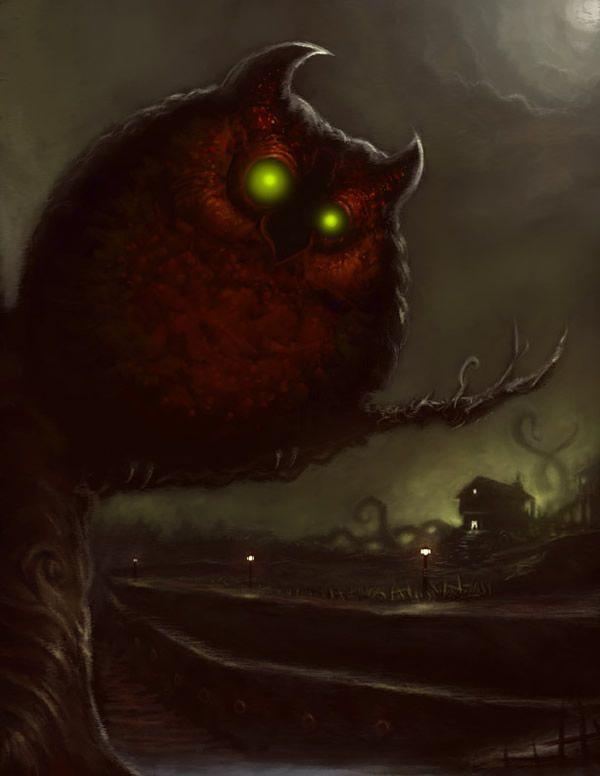 Owlman buho