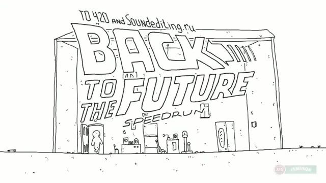 Regreso al futuro en 60 segundos Speedrun Back to the Future I in 60 seconds