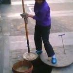 Aceite de alcantarilla en China
