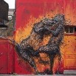 Increíbles obras de arte callejero de DALeast
