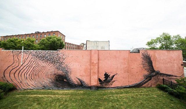 graffiti en 3D DALeast (19)