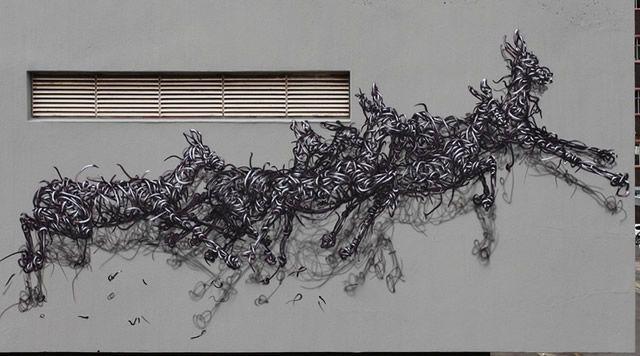 graffiti en 3D DALeast (18)