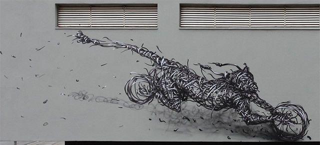 graffiti en 3D DALeast (17)
