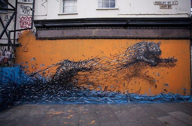 graffiti en 3D DALeast (15)