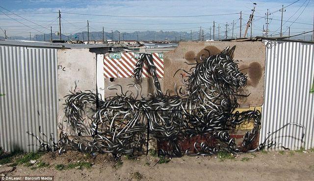 graffiti en 3D DALeast (14)