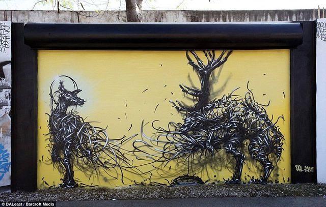 graffiti en 3D DALeast (13)