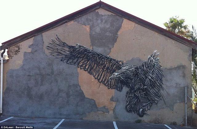 graffiti en 3D DALeast (12)