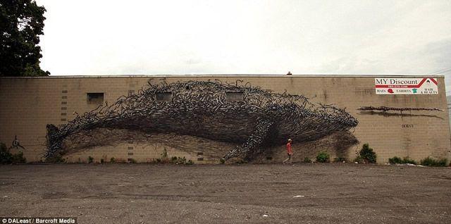 graffiti en 3D DALeast (11)