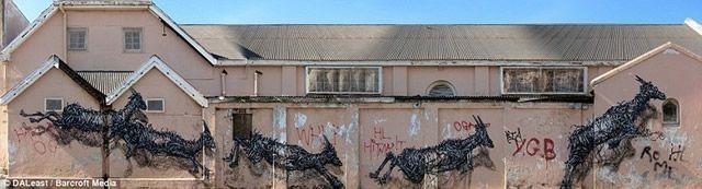 graffiti en 3D DALeast (10)
