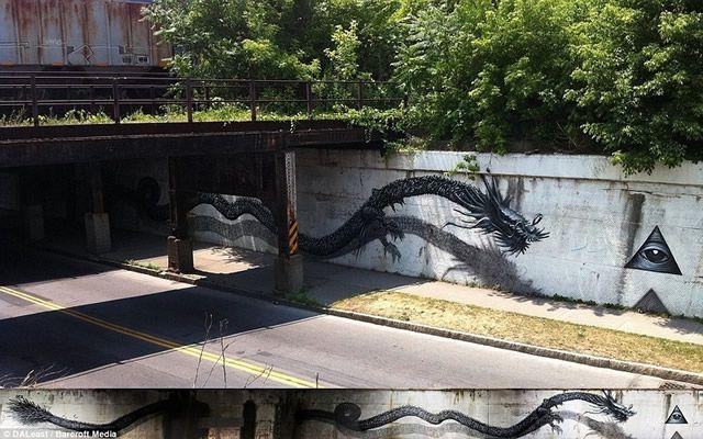 graffiti en 3D DALeast (9)