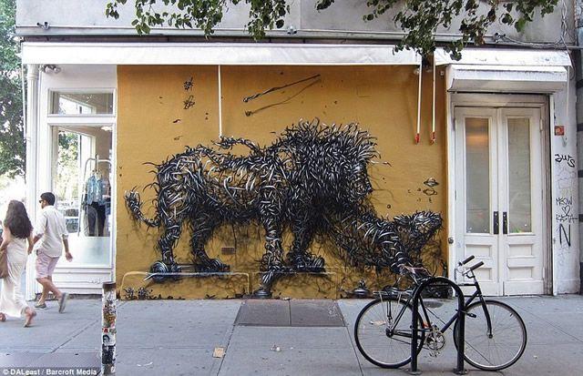 graffiti en 3D DALeast (6)