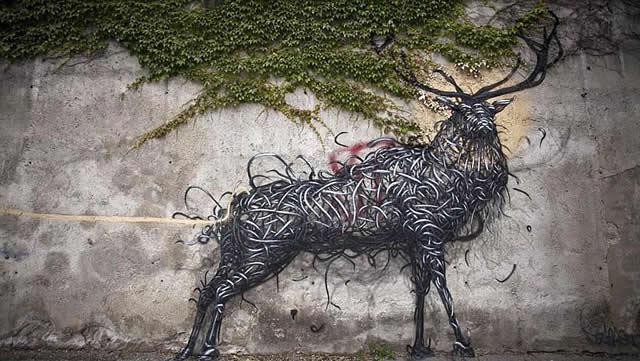 graffiti en 3D DALeast (5)