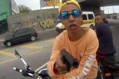 Disparan a ladrón en Brasil mientras robaba motocicleta