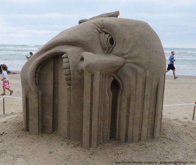 Esculturas arena Guy-Olivier Deveau (2)