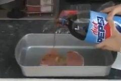 cocinando refresco de cola