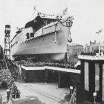 KMS Graf Zeppelin en la quilla