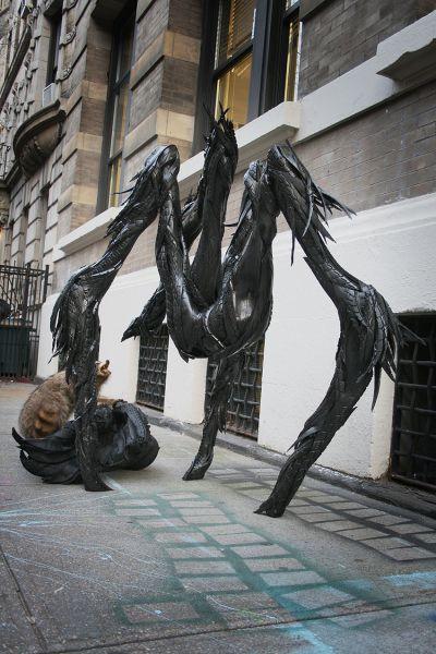 Esculturas neumáticos Yong Ho Ji (2)