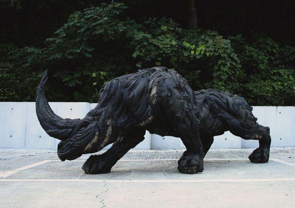 Esculturas neumáticos Yong Ho Ji (8)