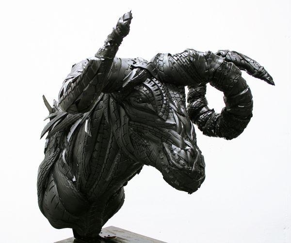 Esculturas neumáticos Yong Ho Ji (5)