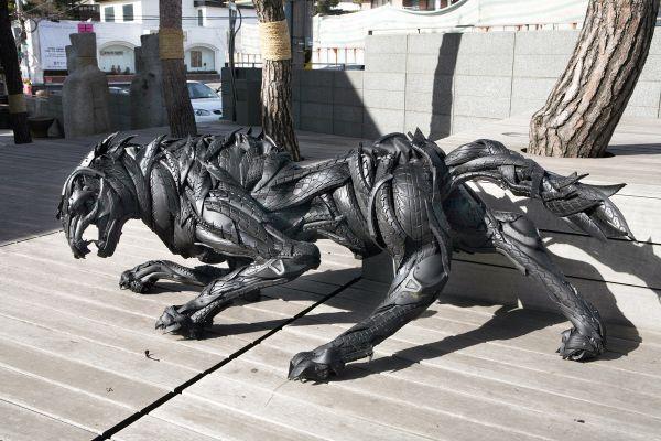 Esculturas neumáticos Yong Ho Ji (4)