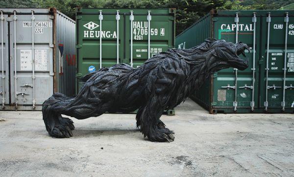 Esculturas neumáticos Yong Ho Ji (17)