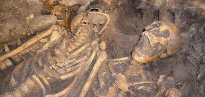 restos esqueleto