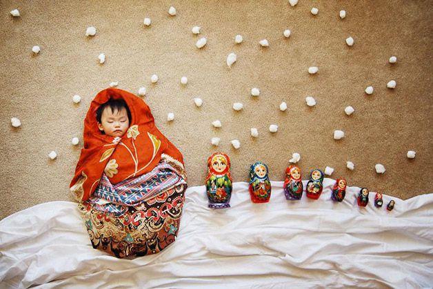 Fotos bebe durmiendo avanturas Queenie Liao (4)