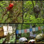 Funeral de bebés en los árboles del Tibet