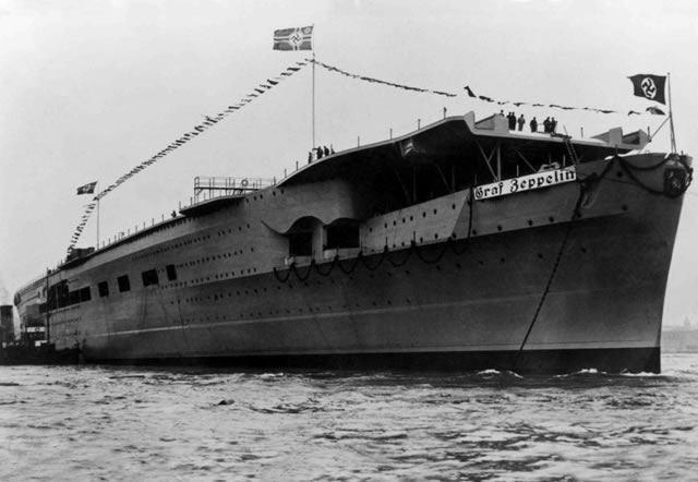 Graf Zeppelin a flote